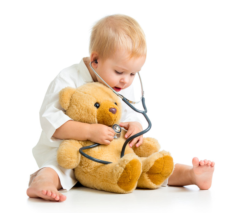 Pediatric child exam